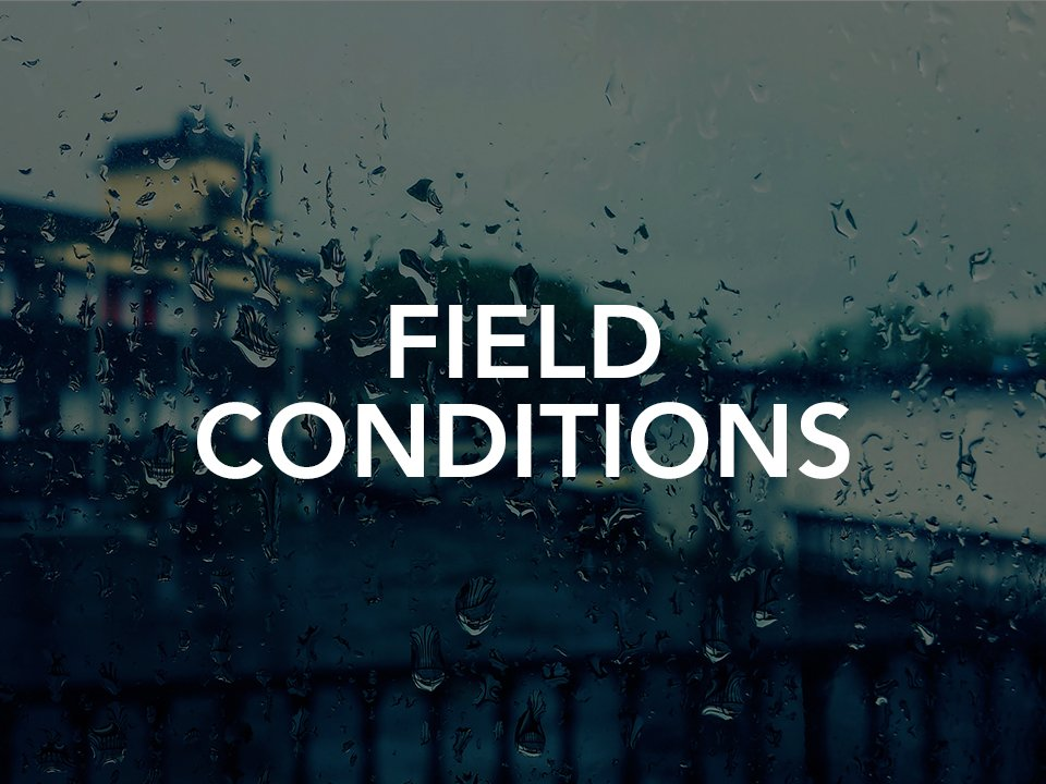 YWCO May 1st Field Conditions