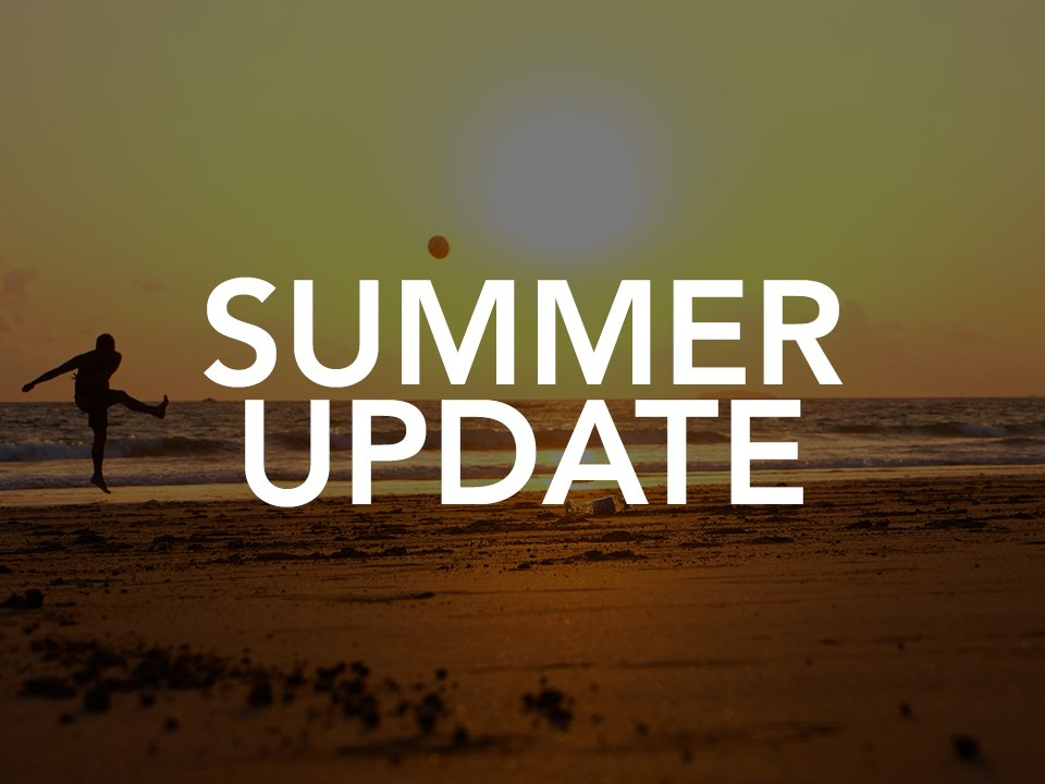 Summer Update for YWCO Soccer